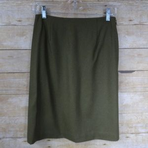 Ann Taylor Wool Blend Lined Skirt - 2